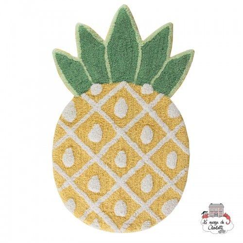 Tropical Pineapple Rug - S&B0025 - Sass & Belle - Decorations - Le Nuage de Charlotte