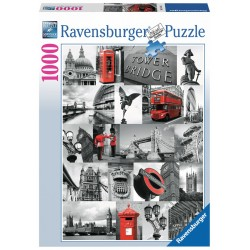 London - RAV0033 - Ravensburger - 1000 pieces - Le Nuage de Charlotte