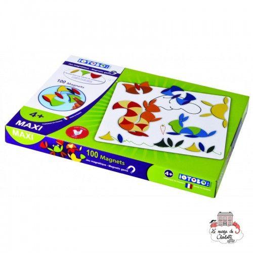 iOTOBO Maxi 4+ - IOT-iTB-Maxi 4+ - SEPP Jeux - Creativity and Magnets - Le Nuage de Charlotte