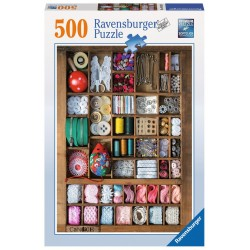 Sewing Box - RAV0035 - Ravensburger - 500 pieces - Le Nuage de Charlotte