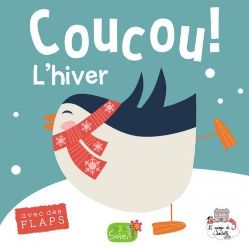 Coucou c'est qui ? Winter - 123-0006 - Editions 123 Soleil - Preschool - Le Nuage de Charlotte