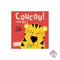 Coucou c'est qui ? In the jungle - 123-0003 - Editions 123 Soleil - Preschool - Le Nuage de Charlotte