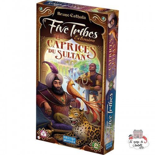 Five Tribes - Exp. 3 - Les Caprices du Sultan - DOW-75162 - Days of Wonder - Board Games - Le Nuage de Charlotte