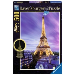 Beautiful Eiffel Tower - RAV-148981 - Ravensburger - 500 pieces - Le Nuage de Charlotte