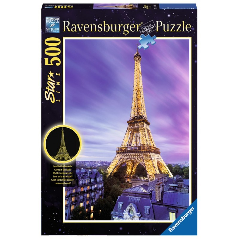Beautiful Eiffel Tower - RAV-148981 - Ravensburger - 500 pieces - Le Nuage de Charlotte
