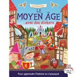 Je découvre le Moyen Âge avec des stickers - 123-0018 - Editions 123 Soleil - Books - Le Nuage de Charlotte