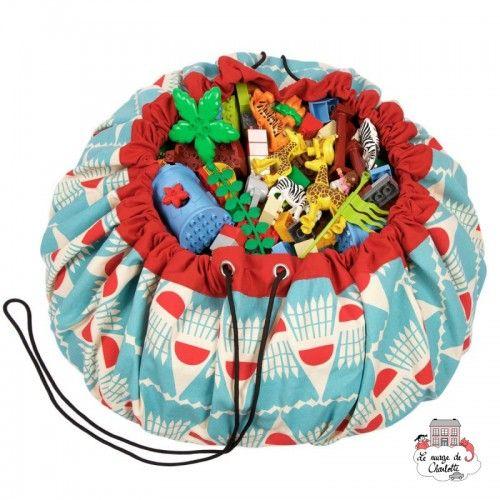 Storage bag, playmat - Badminton - PNG-BADMINTON - play&go - play&go Bags - Le Nuage de Charlotte