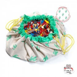 Storage bag, playmat - Cactus (Limited Edition) - PNG-CACTUSLE - play&go - play&go Bags - Le Nuage de Charlotte
