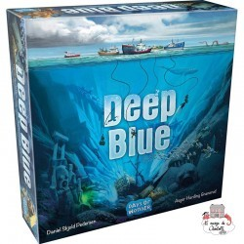 Deep Blue - DOW-75189 - Days of Wonder - for the older - Le Nuage de Charlotte