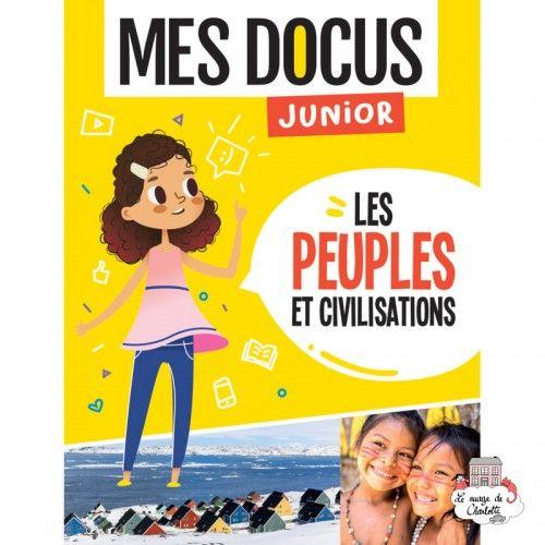 Mes Docus Junior - Les peuples et civilisations - 123-0020 - Editions 123 Soleil - Documentaries - Le Nuage de Charlotte