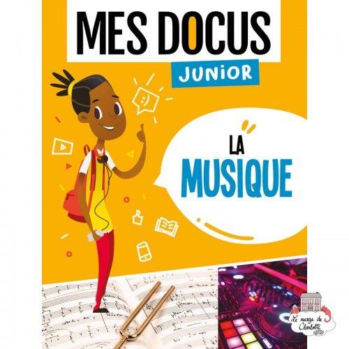 Mes Docus Junior - La Musique - 123-0021 - Editions 123 Soleil - Documentaries - Le Nuage de Charlotte