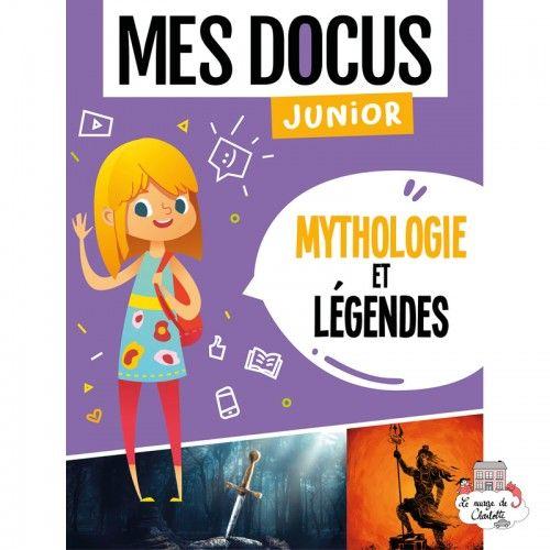 Mes Docus Junior - Mythologie et légendes - 123-0025 - Editions 123 Soleil - Documentaries - Le Nuage de Charlotte
