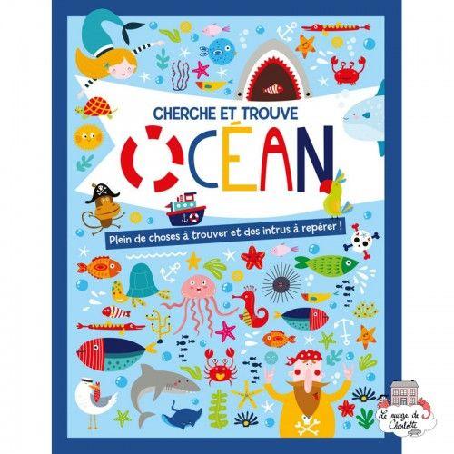 Cherche et trouve – Océan - 123-0026 - Editions 123 Soleil - Books - Le Nuage de Charlotte