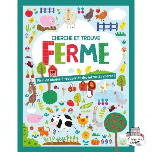 Cherche et trouve – Ferme - 123-0028 - Editions 123 Soleil - Books - Le Nuage de Charlotte