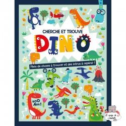 Cherche et trouve – Dino - 123-0029 - Editions 123 Soleil - Books - Le Nuage de Charlotte