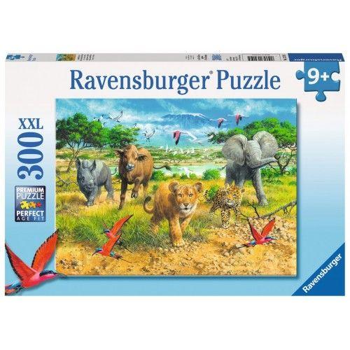African Animal Babies - RAV-132195 - Ravensburger - 300 pieces - Le Nuage de Charlotte