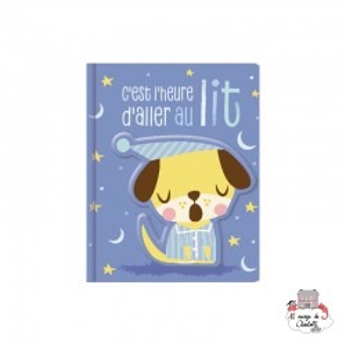 C'est L'heure d'aller au Lit - 123-0030 - Editions 123 Soleil - Preschool - Le Nuage de Charlotte