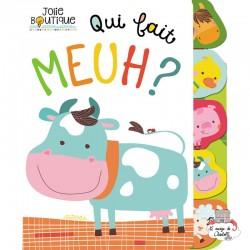 Qui fait Meuh ? - 123-0036 - Editions 123 Soleil - Preschool - Le Nuage de Charlotte