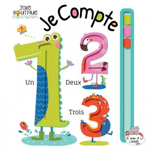 Je compte - 123-0037 - Editions 123 Soleil - Preschool - Le Nuage de Charlotte