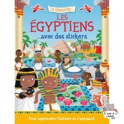 Je découvre les égyptiens avec des stickers - 123-0039 - Editions 123 Soleil - Books - Le Nuage de Charlotte