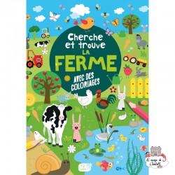 Cherche et trouve – la ferme - 123-0041 - Editions 123 Soleil - Books - Le Nuage de Charlotte