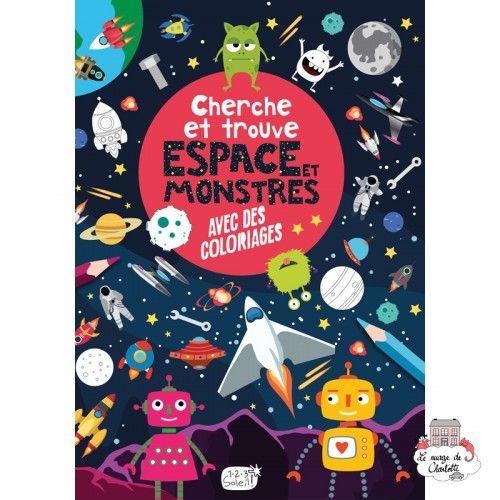 Cherche et trouve – Espace et monstres - 123-0042 - Editions 123 Soleil - Activities - Le Nuage de Charlotte
