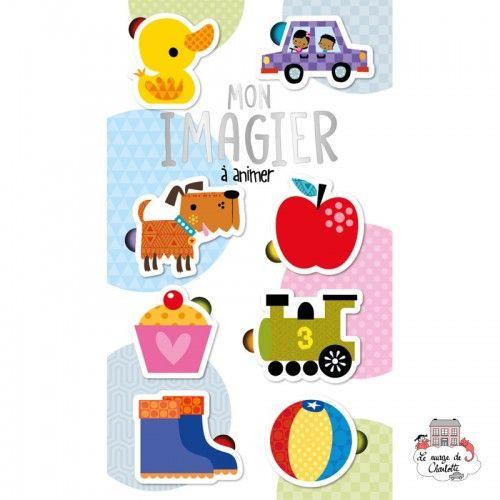 Mon imagier à animer - 123-0044 - Editions 123 Soleil - Activity Books - Le Nuage de Charlotte