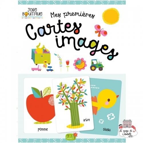 Mes premières cartes images - 123-0045 - Editions 123 Soleil - Preschool - Le Nuage de Charlotte