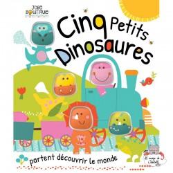 5 petits dinosaures - 123-0046 - Editions 123 Soleil - Preschool - Le Nuage de Charlotte
