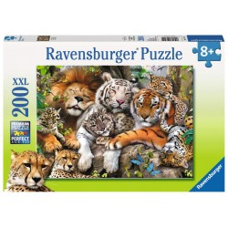Big Cat Nap - RAV-127214 - Ravensburger - 200 pieces - Le Nuage de Charlotte