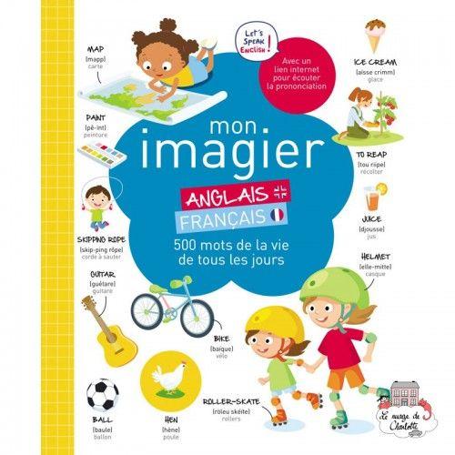 Mon imagier Anglais-Français - 123-0050 - Editions 123 Soleil - Books - Le Nuage de Charlotte