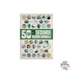 50 choses à savoir sur la 2de guerre mondiale - 123-0051 - Editions 123 Soleil - Documentaries - Le Nuage de Charlotte