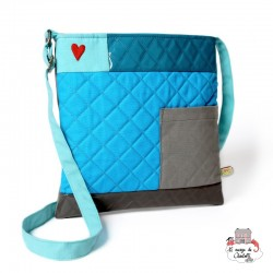 Shoulder Bag - NBNK007 - By Nébuline - Shoulder bag - Le Nuage de Charlotte