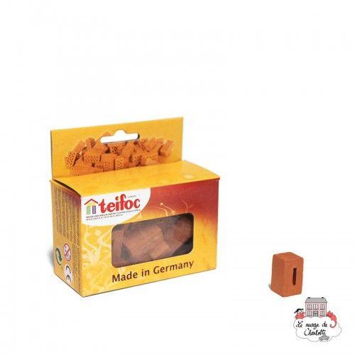 Teifoc Lot de 20 briques avec trou - TEI-908300 - Teifoc - Briques en terre cuite - Le Nuage de Charlotte