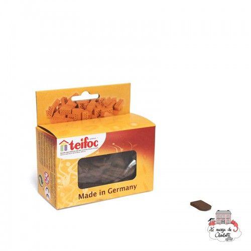 Teifoc Lot of 80 slates black - TEI-903703 - Teifoc - Clay Bricks - Le Nuage de Charlotte