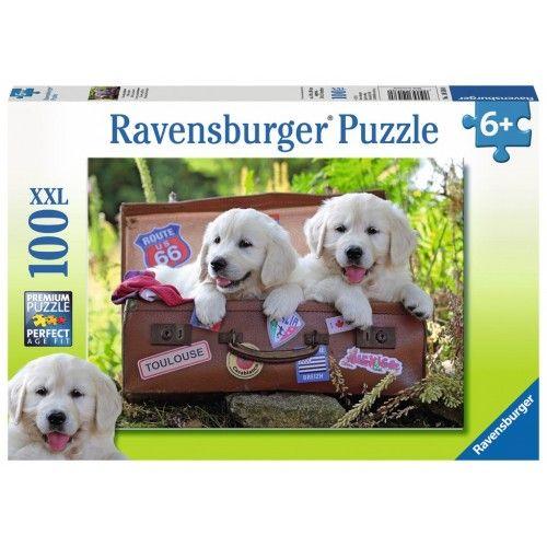 Traveling Pups - RAV0050 - Ravensburger - 100 pieces - Le Nuage de Charlotte