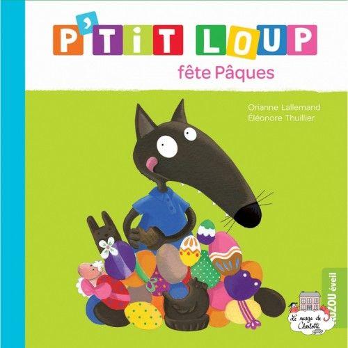 P'tit Loup fête Pâques - AUZ-0014 - - Preschool - Le Nuage de Charlotte
