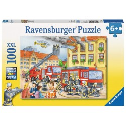 Fire Department - RAV-108220 - Ravensburger - 100 pieces - Le Nuage de Charlotte