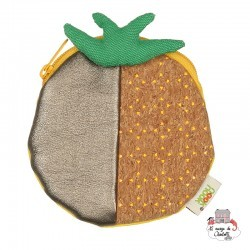 Coin purse - Pineapple - NBNK023 - By Nébuline - Wallet - Le Nuage de Charlotte