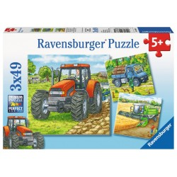 Farm Machinery - RAV-093885 - Ravensburger - For littles - Le Nuage de Charlotte