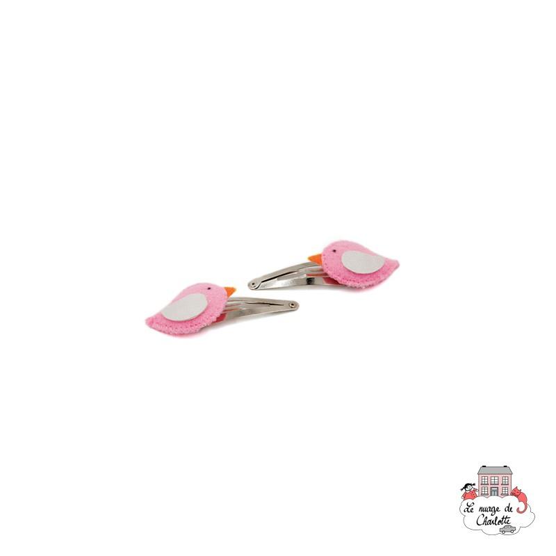 Hair Clips - Bird - BNHAclMx - By Nébuline - Hair Accessories - Le Nuage de Charlotte