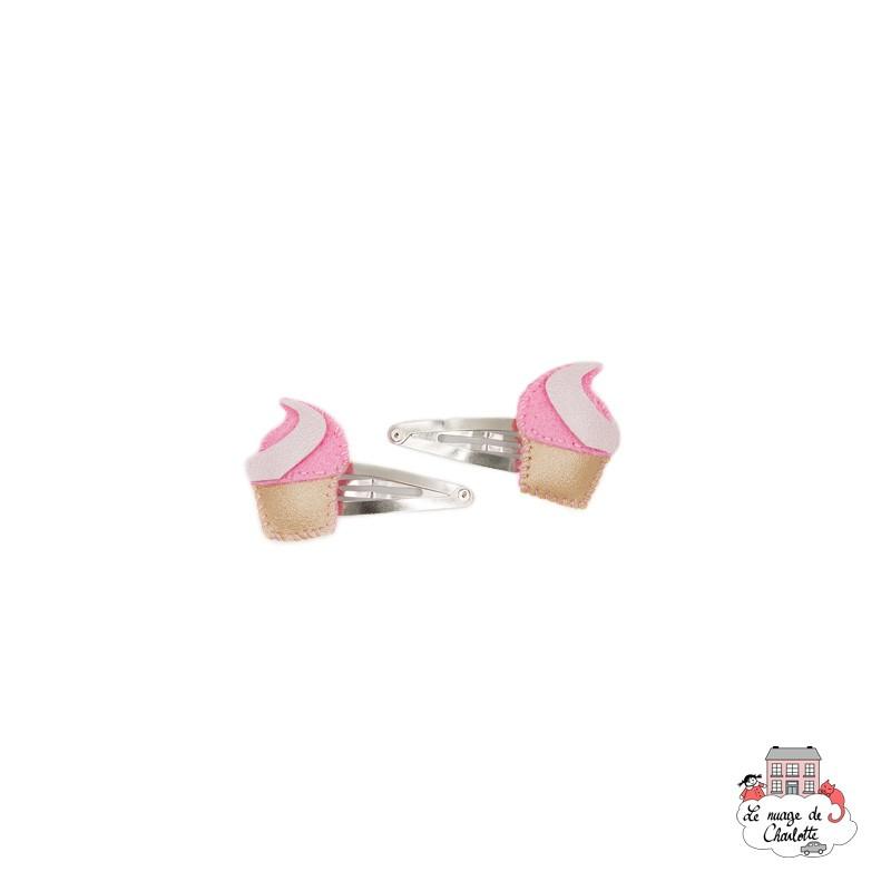 Hair Clips - Ice Cream - BNHAclMXi - By Nébuline - Hair Accessories - Le Nuage de Charlotte