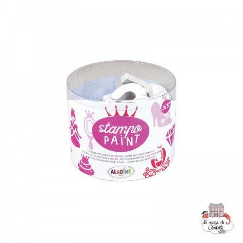 Stampo Paint - Princesses - ALA-03249 - Aladine - Children's Stamps - Le Nuage de Charlotte