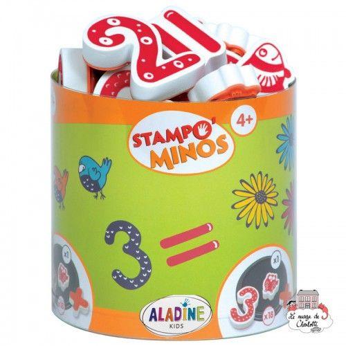 Stampo minos - Numbers - ALA-85110 - Aladine - Children's Stamps - Le Nuage de Charlotte