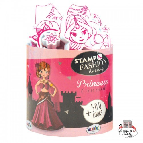 Stampo fashion - Dressing Princess Oriental - ALA-05455 - Aladine - Children's Stamps - Le Nuage de Charlotte