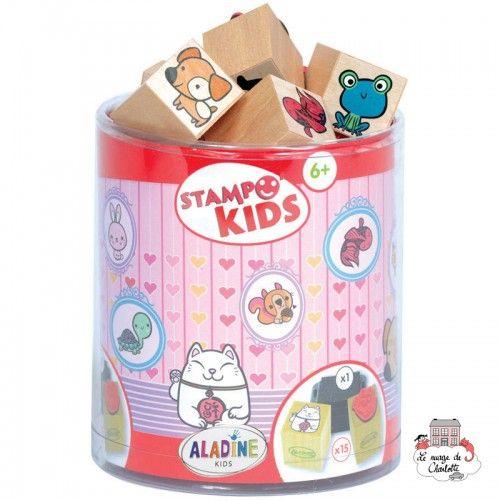 Stampo kids - Kawaï - ALA-03347 - Aladine - Children's Stamps - Le Nuage de Charlotte