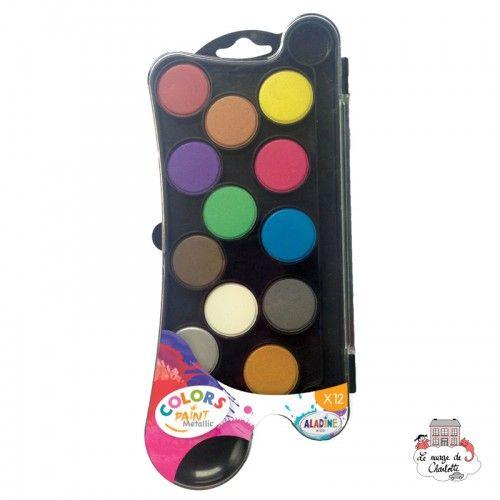 Colors Paint Metallic - ALA-42040 - AladinE - Supplies - Le Nuage de Charlotte