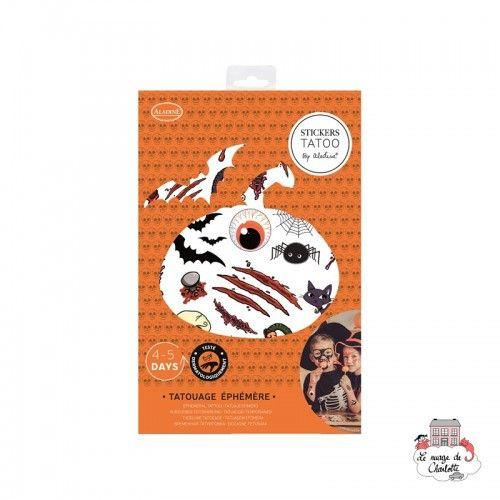 Stickers Tatoo - Halloween - ALA-41304 - AladinE - Disguises - Le Nuage de Charlotte