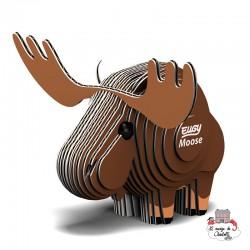 Eugy 042 - Moose - EUG-5313963 - dodoland - Maquettes en carton - Le Nuage de Charlotte