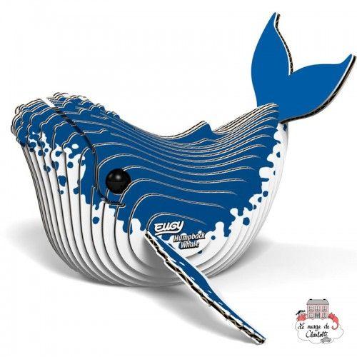 Eugy - Humpback Whale - EUG-5313946 - Eugy - Maquettes en carton - Le Nuage de Charlotte